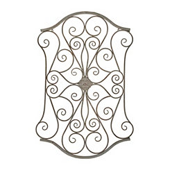 Slate Magnolia Scroll Wall Plaque