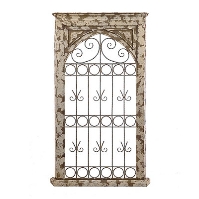Savannah Scroll Arch Metal Plaque