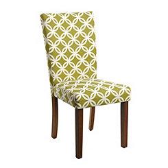 Fern Circles Parsons Chair