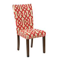 Red Gatehill Parsons Chair