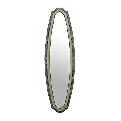 Cottage Blue Panel Mirror
