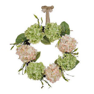Hydrangea Bunch Wreath