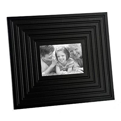 Black Beveled Picture Frame, 5x7