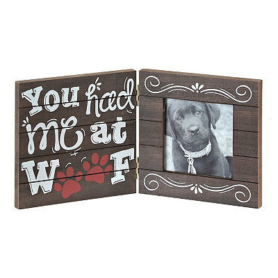 You Had Me at Woof Picture Frame