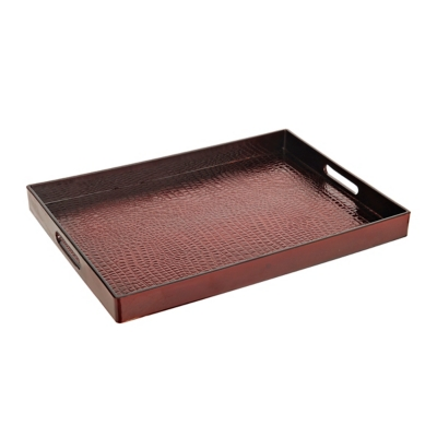 Red Alligator Tray