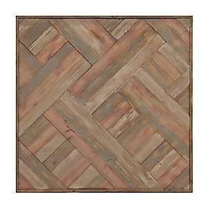 Abstract Wood Plank Wall Plaque