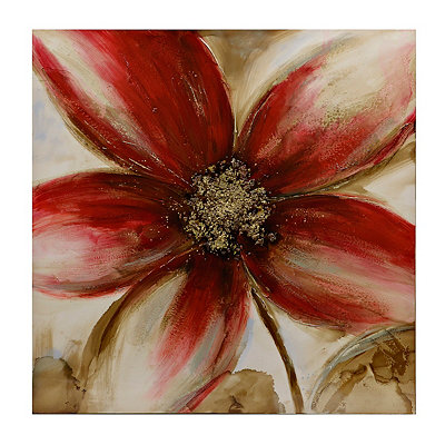 Fascinating Flower Canvas Art