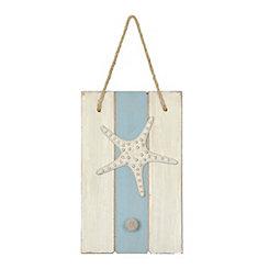 Starfish Wooden Knob Hook