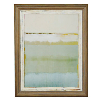 Sea at Noon II Framed Art Print
