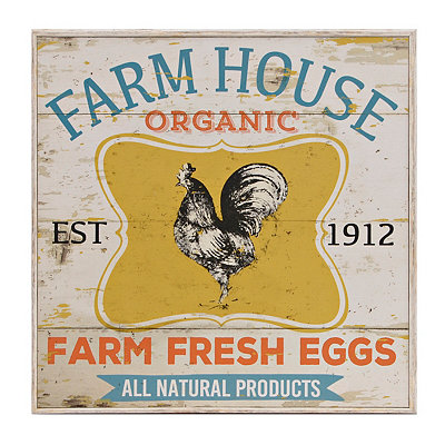 Farm House Organic Framed Art Print