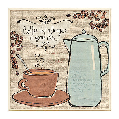 Fresh Roast Coffee II Framed Art Print