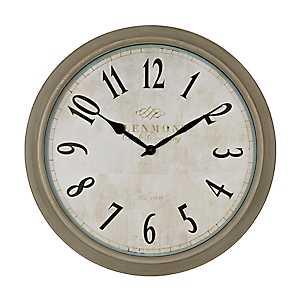 Farmhouse Gray Clock