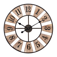 Tanner Open Face Clock