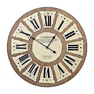 Riley Rustic Wall Clock