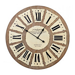 Riley Rustic Wall Clock