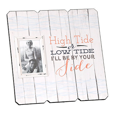 High Tide or Low Tide Picture Frame, 4x6