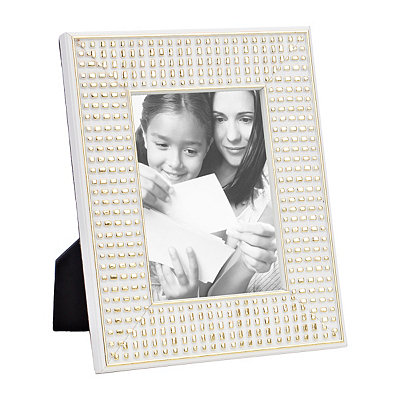 Metallic Clarissa Embossed Picture Frame, 5x7