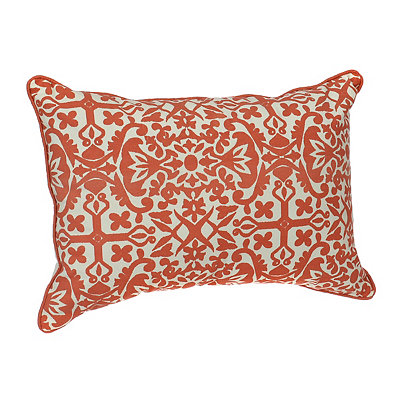 Coral Madrid Accent Pillow