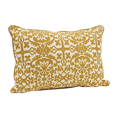 Yellow Madrid Accent Pillow