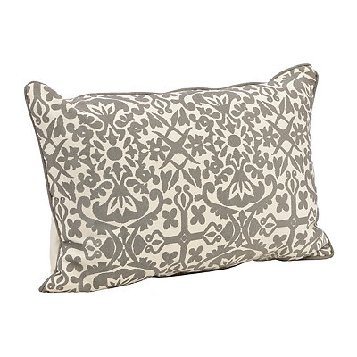 Gray Madrid Accent Pillow