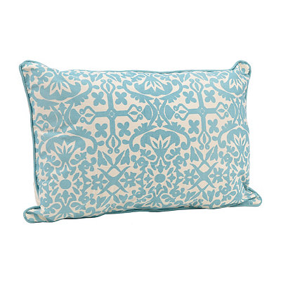 Aqua Madrid Accent Pillow