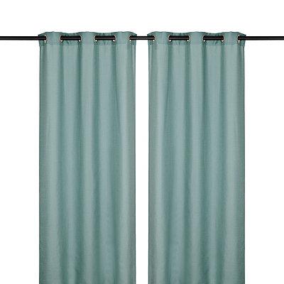 Aqua Jakarta Curtain Panel, 84in.
