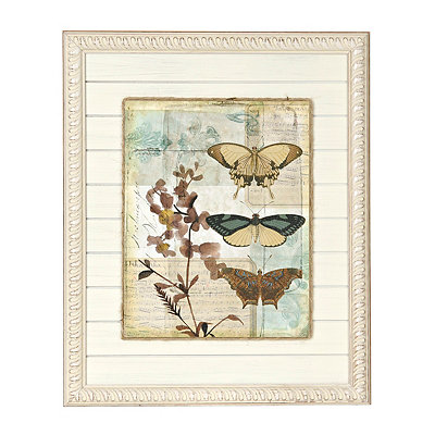 Butterfly Botanicals II Framed Art Print