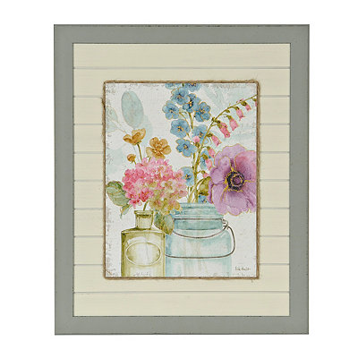 Market Flowers I Framed Art Print