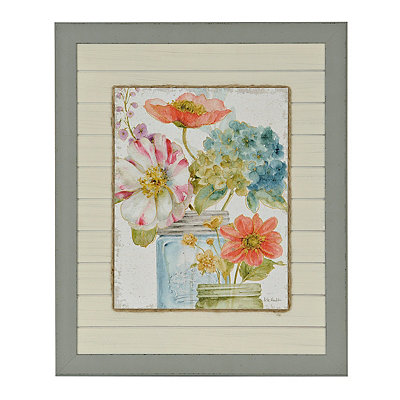 Market Flowers II Framed Art Print