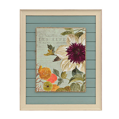 Seaside Botanical I Framed Art Print