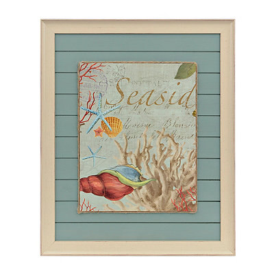 Seaside Botanical II Framed Art Print