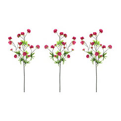 Wine Ball Flower Stems, Set of 3