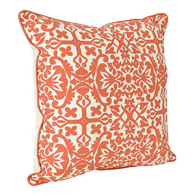 Coral Madrid Pillow