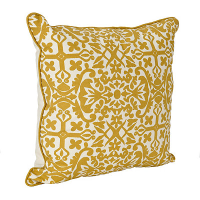 Yellow Madrid Pillow