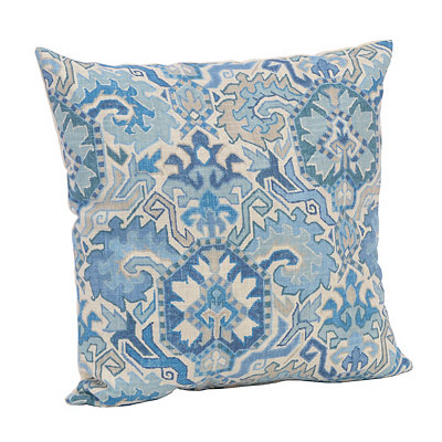 Blue Persian Pattern Pillow