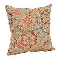 Red Persian Pattern Pillow