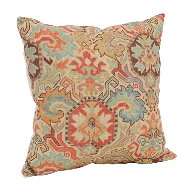 red persian pattern pillow - Pillows Decorative