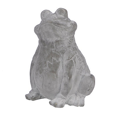 Embossed Frog Statue