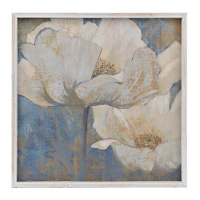 Golden Poppies I Framed Art Print