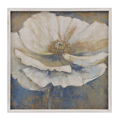 Golden Poppies II Framed Art Print