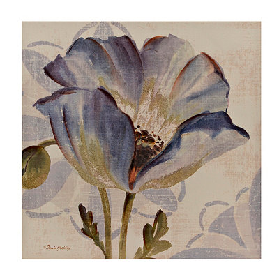 Blue Blossom I Canvas Art Print