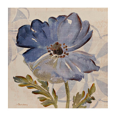 Blue Blossom II Canvas Art Print