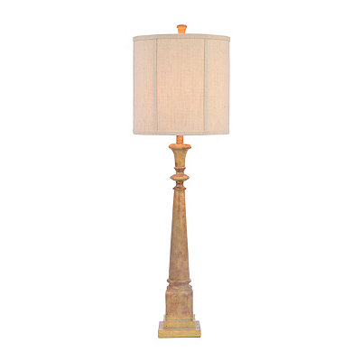 Stone Column Table Lamp