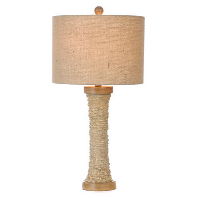 Rope-Wrapped Table Lamp