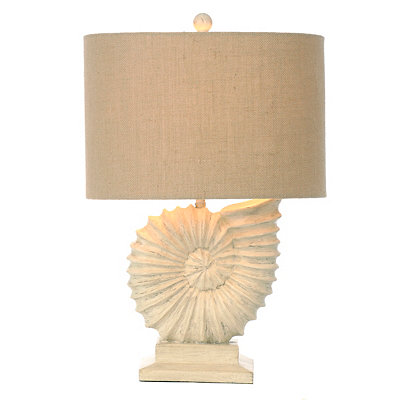 Nautilus Shell Table Lamp