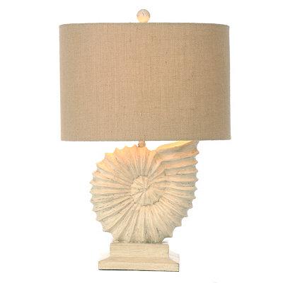 Nautilus Shell Table Lamp