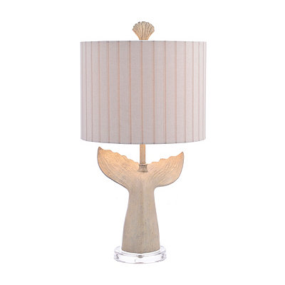 Melville Whale Tail Table Lamp