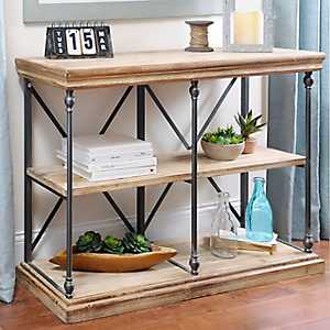 Sonoma Two-Tier Console Table