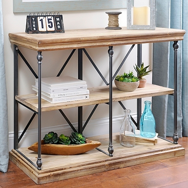 . Sonoma Two Tier Console Table   Kirklands