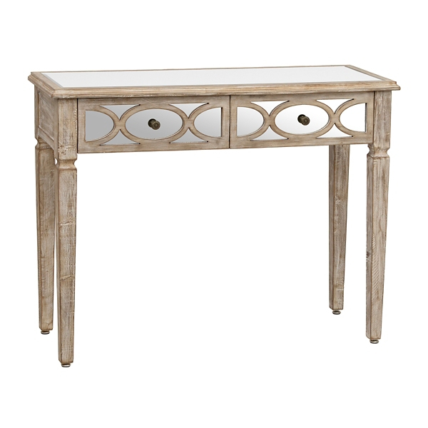 Charmant Lillian Weathered Console Table